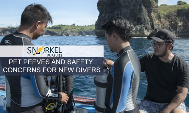 PET PEEVES AND SAFETY CONCERNS FOR NEW DIVERS