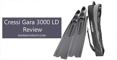 cressi gara 3000 ld review
