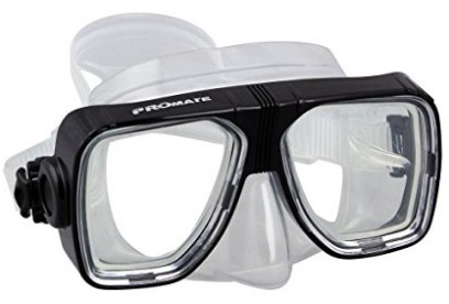 optical corrective scuba dive mask