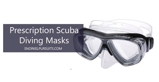 prescription scuba diving masks
