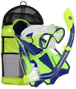us divers youth buzz snorkel gear