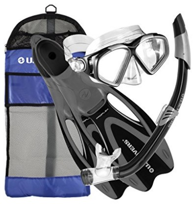 us divers cozumel snorkel set review