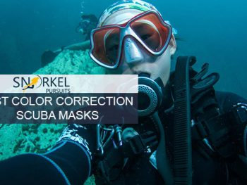 BEST COLOR CORRECTION SCUBA MASKS